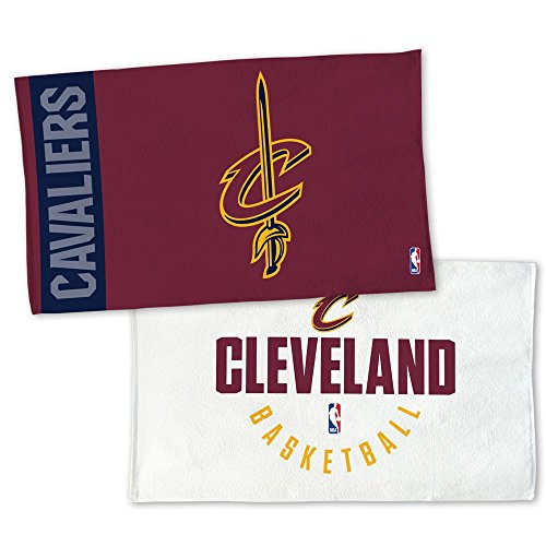 WinCraft NBA CLEVELAND CAVALIERS Authentic On-Court Bench Handtuch 107cm x 56cm (Cavaliers Cleveland Nba)
