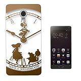 459 - Vintage Clock Alice In Wonderland Design Lenovo Vibe