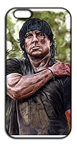 Happoz Rambo -Sylvester Stallone Mobile Phone Back Panel Printed Fancy Pouches Accessories Z1343