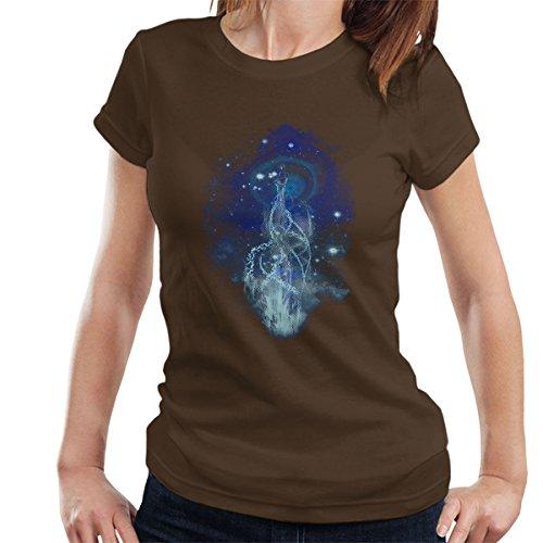 Firefly Dancing With Fireflies Women's T-Shirt Chocolate