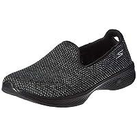SKECHERS Go Walk 4, Women's Road Running Shoes, Black, 5.5 UK (38.5 EU)