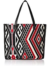 Kanvas Katha Women's Tote Bag (Multicolor) (KKFJT005)
