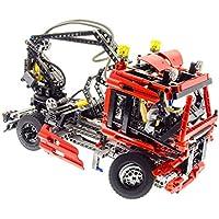 1x Lego Kran Arm rot Feuerwehr Ausleger 16L Set 7945 7747 4496440 57779