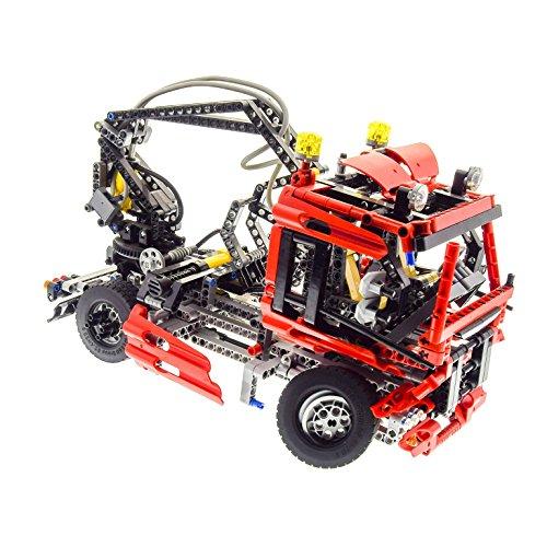 Preisvergleich Produktbild Bausteine gebraucht 1 x Lego Technic Set Modell für Nr. 8436 Truck rot für Pneumatic Kran Wagen Technik Auto geprüft Incomplete unvollständig