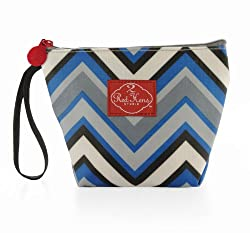 Make-Up Bag Color: Chevron Stripes