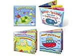 Set of 4 Baby Bath Books | First - Best Reviews Guide
