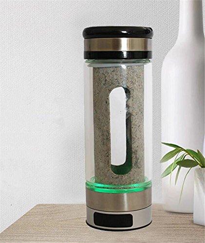 FFJTS Wasserstoff-Rich Cup Water Cup Schwache Wasser Alkaline Anion Smart Portable Tragbare Tasse 290ml (Kurze Schlaf-tees)