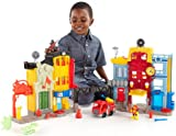 Fisher Price Imaginext - Rescue City Center - Interactive Electronic Toy Centre Playset - Fire Truck and Action Figures