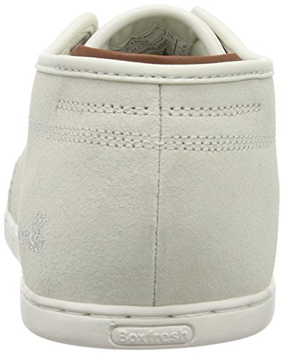 Boxfresh Sparko Ug Wxd Sde Off Wht/Olv Grn Herren Low-Top Weiß (OFF WHITE/OLIVE GREEN)