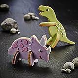 Lakeland 3D Dinosaur Cookie Cutters (Makes 4 Dinosaurs)