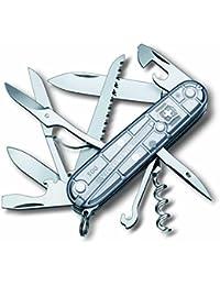 Victorinox 1.3713.T7 Huntsman Silvertech Swiss Army Knife (Silver)