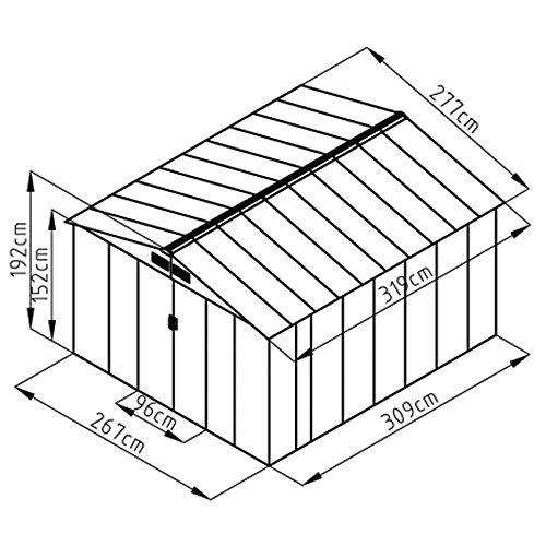 Gerätehaus - SVITA - B01ITS6D78