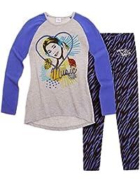 Legging + tunique enfant fille Violetta Gris/bleu 8ans