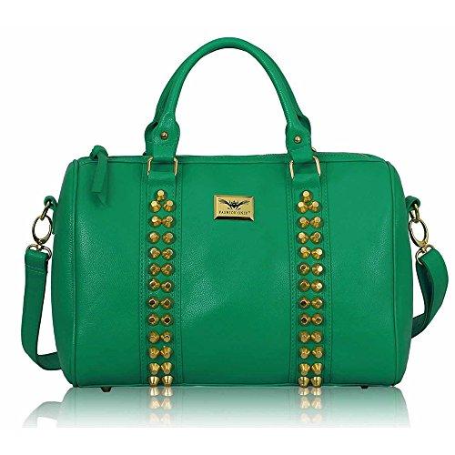 Tracolla Overgrip Fashionstar Da Donna Di Tendenza In Similpelle Per Borse Di Smeraldi Stile Celebrità