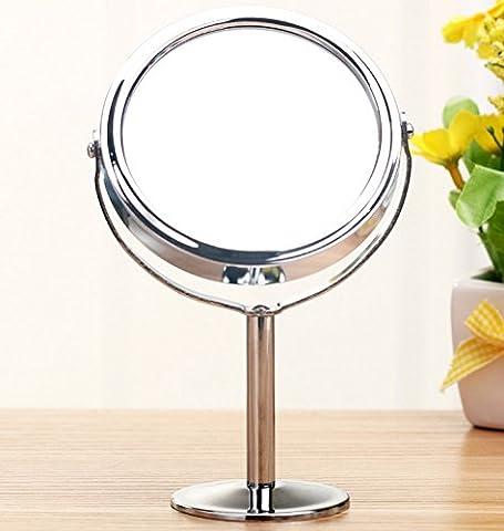 Ohcde Dheark 3.5 Pouce De Maquillage Beauté Cosmétique Maquillage Circulaire Mini Femmes Normal Double Miroir Grossissant