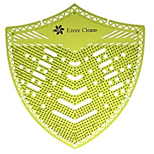 Ezeee Clean – Protector de pantalla para orinal biodegradable, 2 unidades, fragancia fresca (manzana)