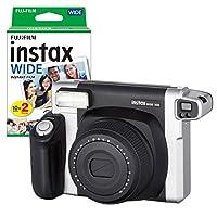 instax Wide 300 Siyah Fotoğraf Makinesi ve 20'li Film