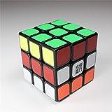 MoYu SULONG 3x3 3 Layers Magic Cube Professional Speed Puzzle Cube Brain Teasers Game Black With a Cube Tripod moyu sulong 3x3 3 schichten zauberwürfel profi speed puzzle cube denksportaufgaben spiel schwarz mit cube stativ
