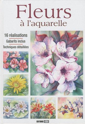 Fleurs à l'aquarelle (1DVD)