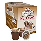 Grove Square Hot Cocoa, Milk Chocolate, 24 Count Single Serve Cup for Keurig