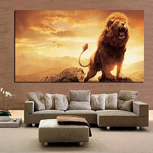 Abstrakte HD Print Leinwand Kunst Tier Pferd Dekorative Wand Bild Home Decor Modulare Malerei Wohnzimmer (Kein Rahmen) A5 40x80 CM