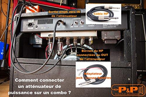 Attenuatore di potenza 22W 16Ohm P & P amplificazione