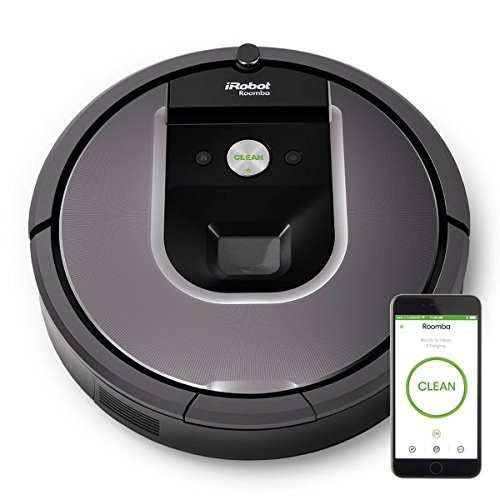 ROOMBA960 Robotic Vacuum Cleaner with iAdapt 2.0 Navigation & AeroForce 3-Stage Cleaning System