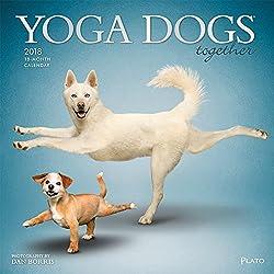 Yoga Dogs Together 2018 Calendar