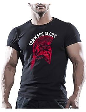Camiseta, la mejor para entrenamiento, para artes marciales mixtas, gimnasio, culturismo, lucha