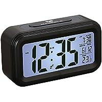 Despertador Digital – Maxesla Despertador Digital Inteligente Con 360° Visible LED Pantalla, Fecha Y Temperatura Pantalla, Función Snooze, Luz De Fondo Inteligente Con Atenuador