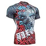 Fixgear Sports Herren Damen Kompression Gear Gym Exercise Tee Shirt S ~ 4XL