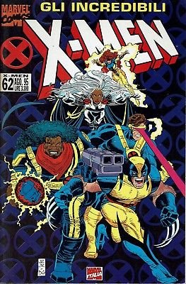 Gli incredibili X Men n. 62 ed.Marvel Italia