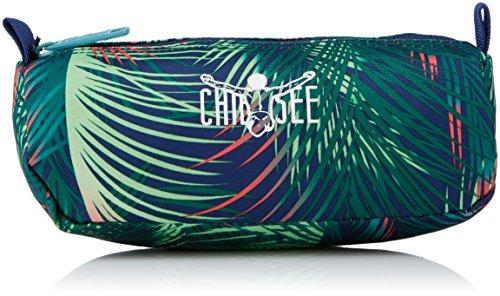 Chiemsee Unisex-Erwachsene the Pen Pocket Tornistertasche, Mehrfarbig (Palmsprings), 9x7x21 cm
