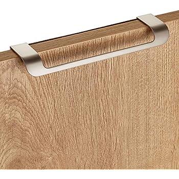 5 x SO-TECH/® Poign/ée profil en aluminium SEARL 780 mm Aspect dacier affin/é Poign/ée profil Poign/ée int/égr/ée Poign/ée de tiroir Poign/ée de cuisine
