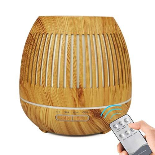 AKSU Diffusore ad ultrasuoni Aroma Olio, aromaterapia Cool Mist WiFi umidificatore con 7 luci notturne Colorate LED, waterless Auto spegnimento, per Home Office Yoga, Spa.