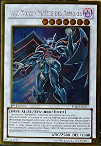 carte YU-GI-OH PGLD-FR077 Aile Noire - Maître Des Armures NEUF FR