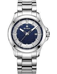 Swiza Urbanus Sst Silver Dial Analog Watch For Men-Wat.0761.1005
