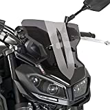 Windschild Puig Sport Yamaha MT-09 17-18 dunkel getönt