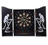 Homcom® Elektronische Dartscheibe Dartboard Dartscheibe als Geschenk NEU 64