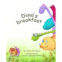Dino's Breakfast - Did You Ever Try to Say the Names of the Dinosaurs Fast and Clear? Let's Laugh Together! Funny and Playful Poem - Children's Picture ... - Preschool - Dinosaurs (English Edition)