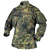 Helikon CPU Shirt Feldhemd Jacke Flecktarn Ripstop Bundeswehr BW Combat Uniform Large Regular