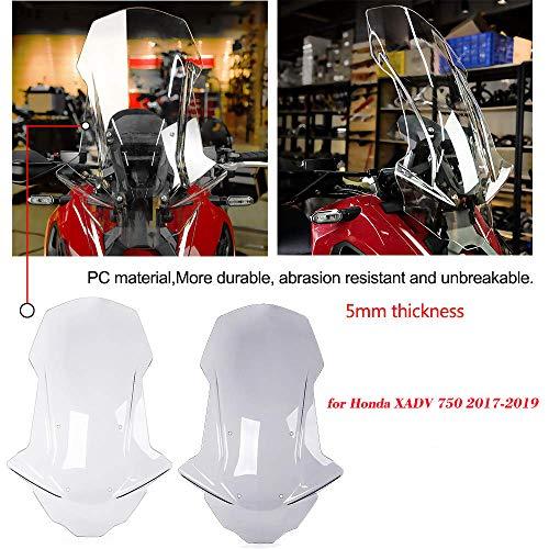 Motocicleta XADV 750 Accesorios Parabrisas Visera Visera Deflectores de viento Parabrisas de...