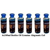 6x100ml Original ABGYMNIC Highly Conductive Gel for TENS, EMS and other Toning Pad Systems
