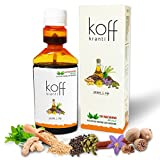 20 Microns Herbal Koff Kranti Ayurvedic Cough Syrup Anti Spoon Bottle - 100