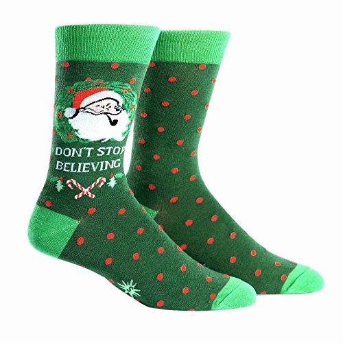 Preisvergleich Produktbild Sock It To Me Herren-Crew Socken - Don't Stop Believing