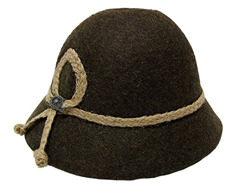 Kinder Trachten Hut braun Gr. (Kind Hut)