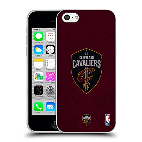 Offizielle NBA Trikot Cleveland Cavaliers Soft Gel Hülle für Apple iPhone 6 / 6s Zerstört