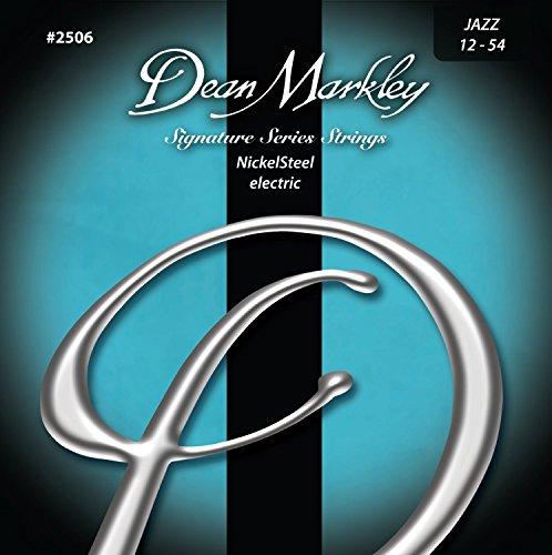 Saiten Neoprenanzug für elektrische Gitarre Dean Markley dm-2506-jz 1254W 12/54W Made USA