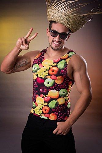 Marco Porta Früchte Shirt elastisch Obstkorb Herren Oberteil