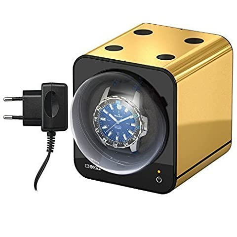 Boxy Fancy Brick - OR - Remontoir pour Montres incl. Adaptateur- par Beco Technic - Système modulaire - Partage Power Technology - programmable - Haute Qualité